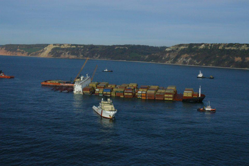 MSC Napoli English Channel 2007