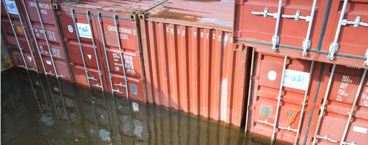 Container Water Damage