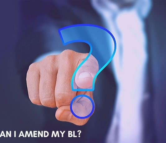 Can we Amend a BL