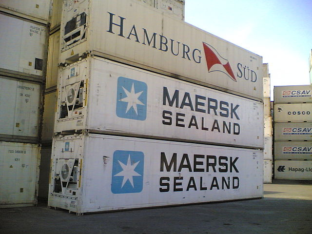 reefer containers allows FCL over LCL only