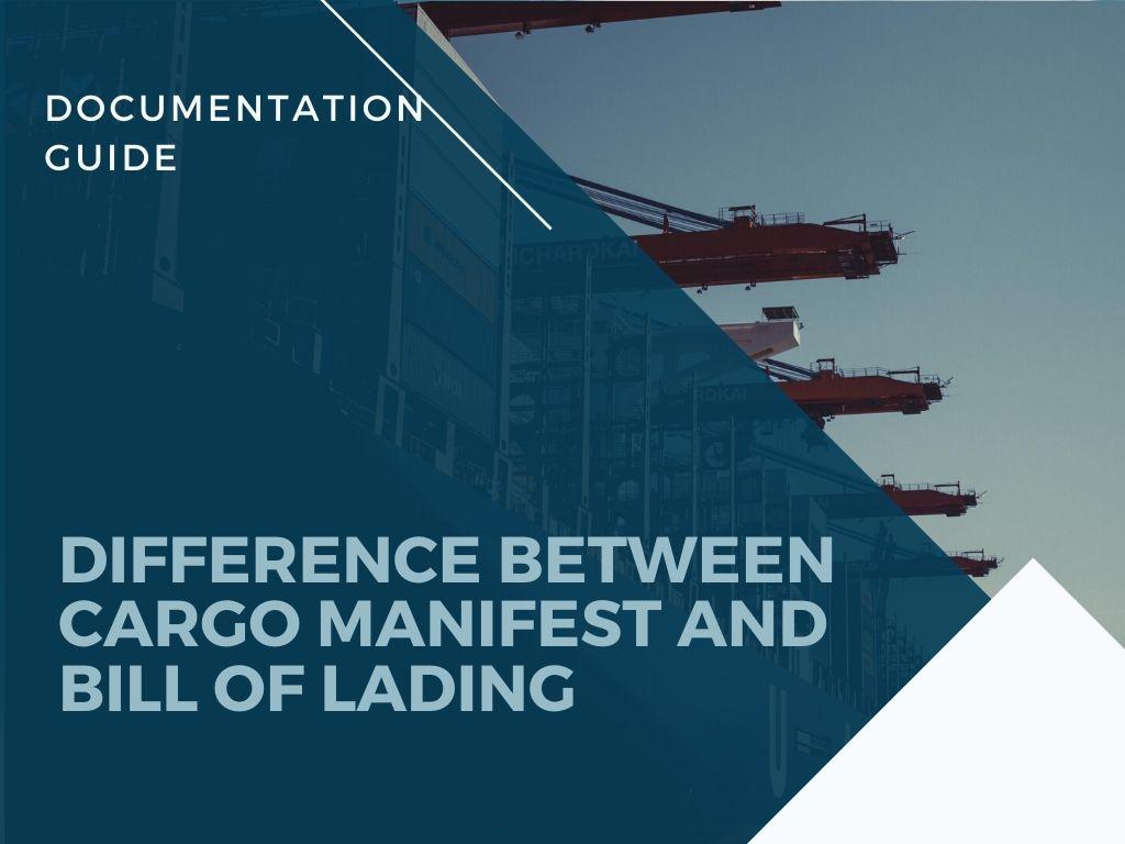 Shipping Manifest vs Bill of Lading