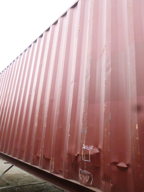 Dented Container