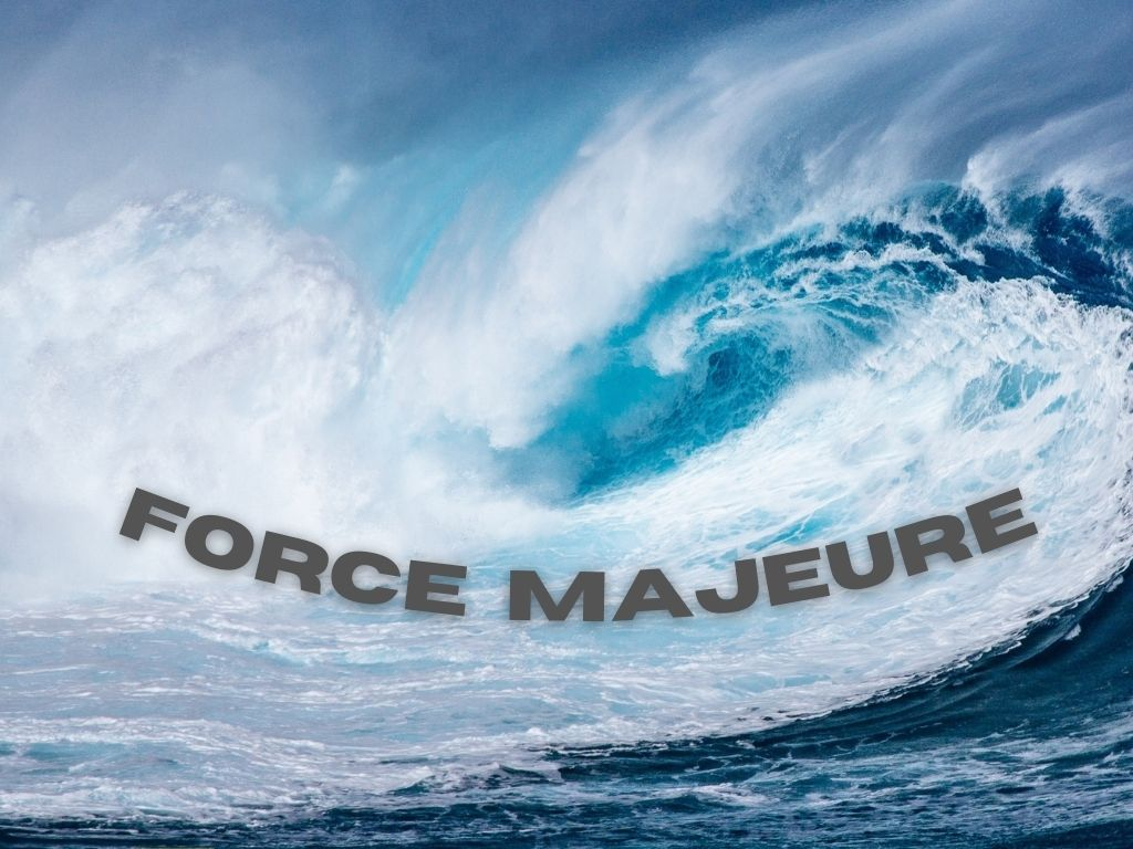 force majeure, vessel delay